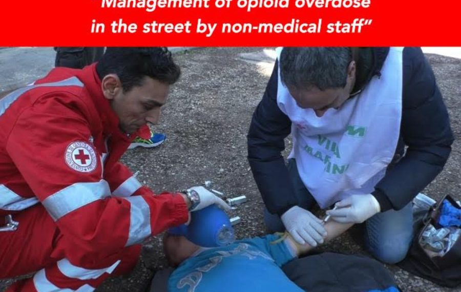 Facing addiction and overdose, the Italian Red Cross and the naloxone way for non-professional operators