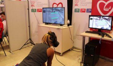 ITALIANO – VR CPR: il videogioco che insegna a salvare vite. Non solo insegnamento ma anche retraining