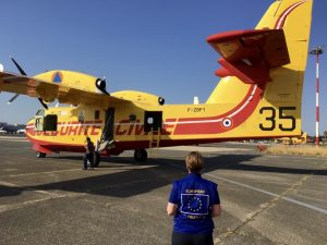 Securite Civile Canadair European Civil Protection