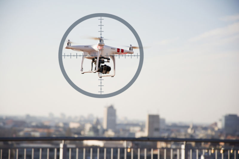 DRONES INTERCEPTION: how to avoid risks for aircrafts and HEMS?
